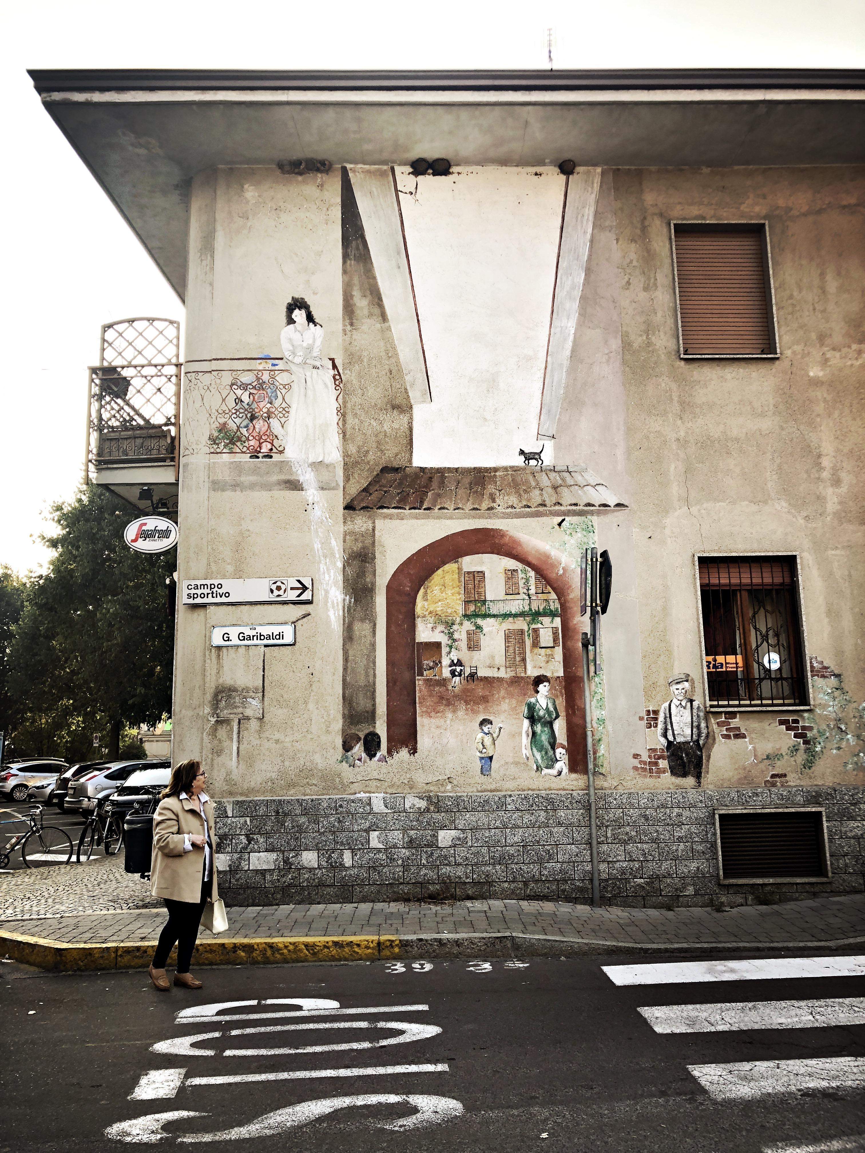 Dairago, il paese dei murales