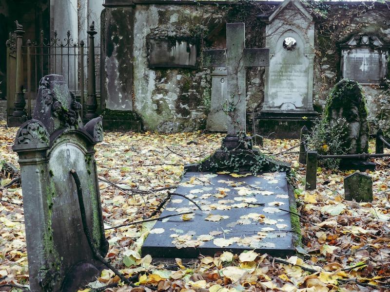 Il vecchio cimitero di Viggiù