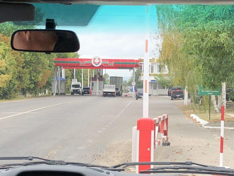 Frontiera tra Moldavia e Transnistria