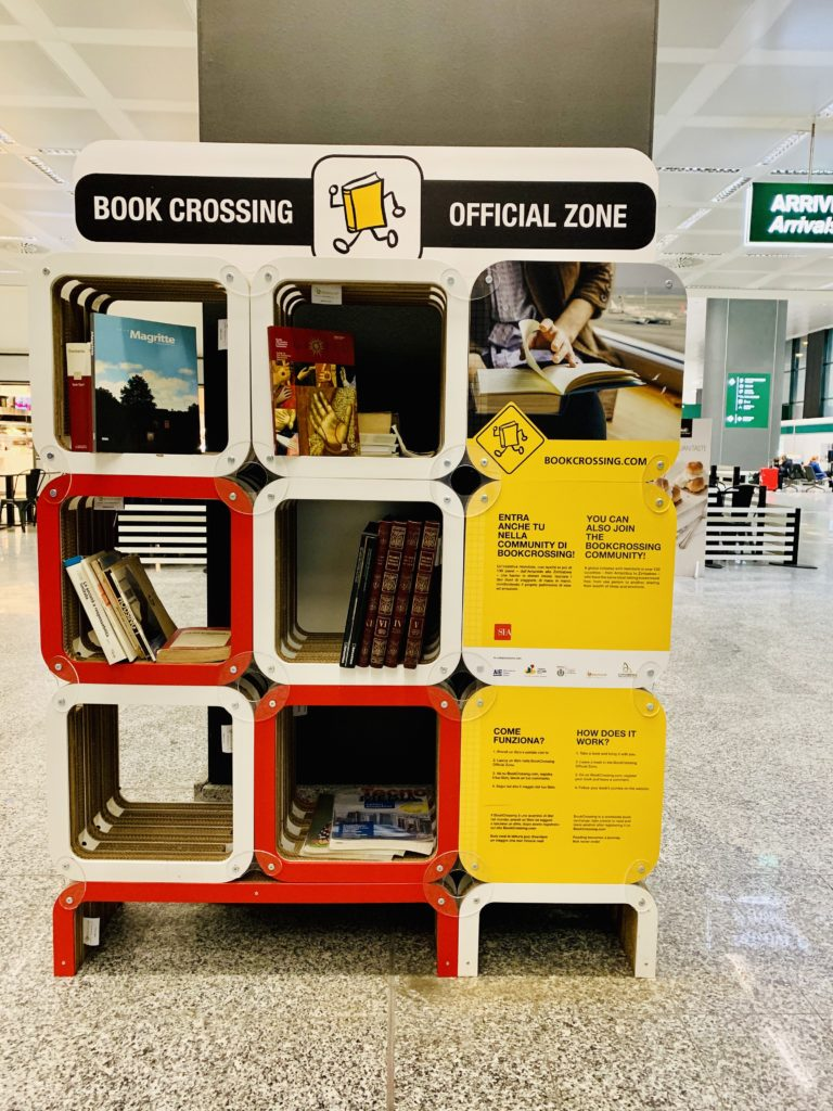 bookcrossing a malpensa