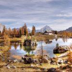 rifugio croda da lago