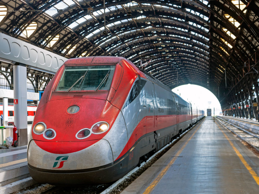 Coronavirus: le misure sui treni italiani