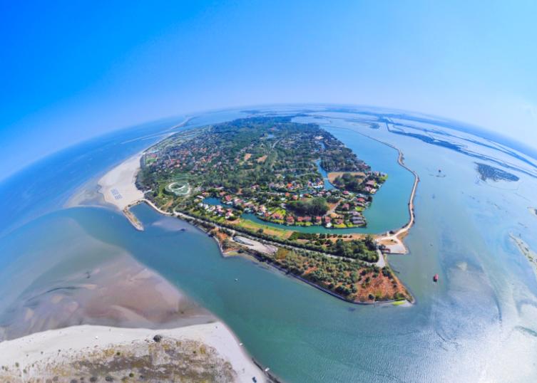 Vacanze sicure post Covid: all'Isola di Albarella. Ecco come si sta preparando alla Ripartenza