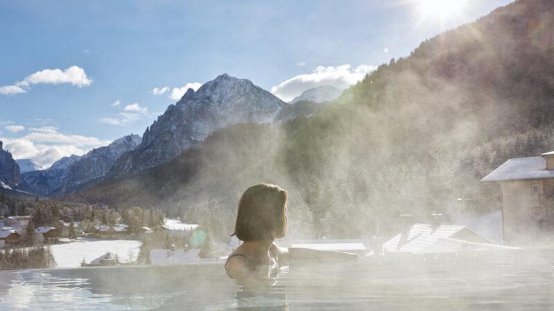 7 piscine panoramiche riscaldate dal panorama mozzafiato  in Trentino Alto Adige