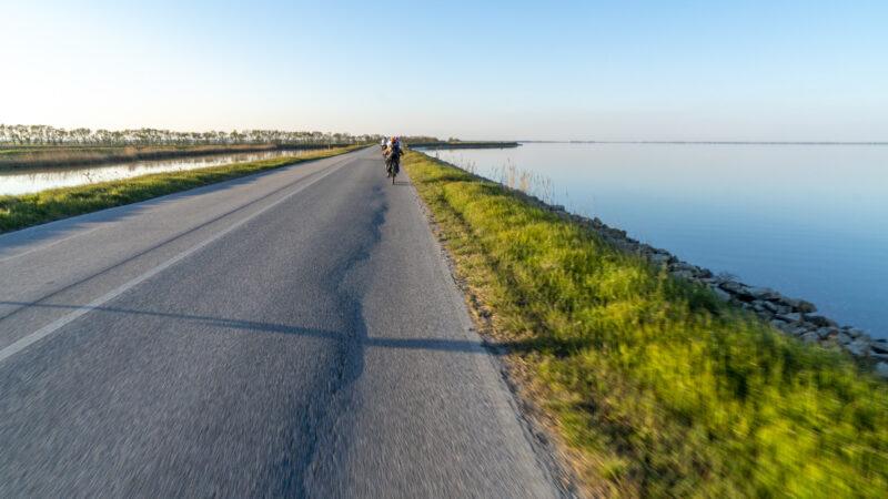 giro in bici a cervia